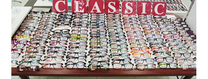 CLASSICなメガネ